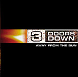 Download or print Away From The Sun Sheet Music Notes by 3 Doors Down for Guitar Tab (Single Guitar)