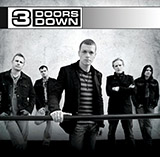 Download 3 Doors Down When It's Over Sheet Music arranged for Piano, Vocal & Guitar (Right-Hand Melody) - printable PDF music score including 7 page(s)