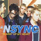 Download 'N Sync Tearin' Up My Heart Sheet Music arranged for Piano, Vocal & Guitar (Right-Hand Melody) - printable PDF music score including 5 page(s)