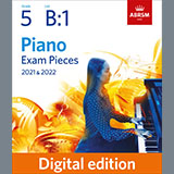 Download or print Arctic Night (Grade 5, list B1, from the ABRSM Piano Syllabus 2021 & 2022) Sheet Music Notes by A. M. Beach for Piano Solo