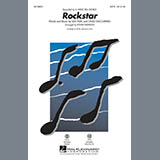 Download A Great Big World Rockstar (arr. Roger Emerson) - Bass Sheet Music arranged for Choir Instrumental Pak - printable PDF music score including 2 page(s)