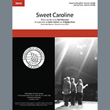 Download A Mighty Wind Sweet Caroline (arr. Dylan Oxford & A Mighty Wind) Sheet Music arranged for SSAA Choir - printable PDF music score including 9 page(s)