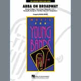 Download or print ABBA on Broadway (arr. Michael Brown) - Bb Clarinet 2 Sheet Music Notes by ABBA for Concert Band