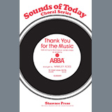 Download or print Thank You For The Music (arr. Hawley Ades) Sheet Music Notes by ABBA for SATB Choir