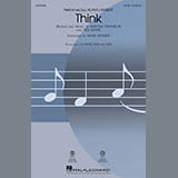 Download Adam Lambert Think (from Captain Underpants: The First Epic Movie) (Arr. Mark Brymer) - Baritone Sa Sheet Music arranged for Choir Instrumental Pak - printable PDF music score including 2 page(s)