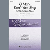 Download or print O Mary, Don't You Weep (Tell Martha Not to Mourn) (arr. Rollo Dilworth) Sheet Music Notes by African-American Spiritual for SATB Choir