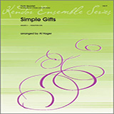 Download Al Hager Simple Gifts - Full Score Sheet Music arranged for Woodwind Ensemble - printable PDF music score including 4 page(s)
