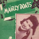 Download or print Mairzy Doats Sheet Music Notes by Al Hoffman for Piano