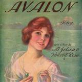 Download Al Jolson Avalon Sheet Music arranged for Real Book - Melody, Lyrics & Chords - C Instruments - printable PDF music score including 1 page(s)