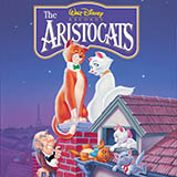 Download Al Rinker Ev'rybody Wants To Be A Cat (from The Aristocats) Sheet Music arranged for Very Easy Piano - printable PDF music score including 2 page(s)