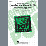 Download or print I've Got The Music In Me Sheet Music Notes by Alan Billingsley for 3-Part Mixed Choir