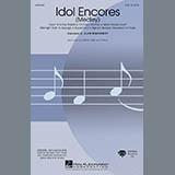 Download or print Idol Encores (Medley) - Baritone Sax Sheet Music Notes by Alan Billingsley for Choir Instrumental Pak