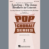 Download Alan Billingsley Lovebug - The Jonas Brothers In Concert (Medley) Sheet Music arranged for SAB Choir - printable PDF music score including 23 page(s)