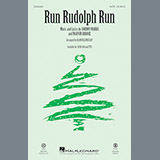 Download or print Run Rudolph Run Sheet Music Notes by Alan Billingsley for TTBB