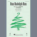 Download or print Run Rudolph Run Sheet Music Notes by Alan Billingsley for TTBB