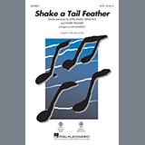 Download or print Shake a Tail Feather - Baritone Sax Sheet Music Notes by Alan Billingsley for Choir Instrumental Pak