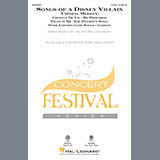 Download Alan Billingsley Songs Of A Disney Villain (Choral Medley) Sheet Music arranged for 2-Part Choir - printable PDF music score including 19 page(s)