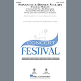 Download Alan Billingsley Songs Of A Disney Villain (Choral Medley) Sheet Music arranged for SAB Choir - printable PDF music score including 19 page(s)