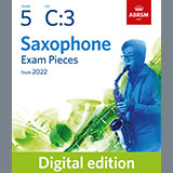 Download Alan Bullard Festival Sax (from Sixty for Sax) (Grade 5 List C3 from the ABRSM Saxophone syllabus f Sheet Music arranged for Alto Sax Solo - printable PDF music score including 1 page(s)