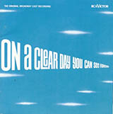 Download or print On A Clear Day (You Can See Forever) Sheet Music Notes by Alan Jay Lerner for Real Book - Melody, Lyrics & Chords - C Instruments