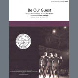 Download Alan Menken Be Our Guest (from Beauty and The Beast) (arr. Steve Delehanty) Sheet Music arranged for SSAA Choir - printable PDF music score including 5 page(s)