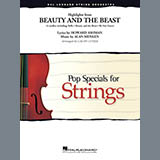 Download or print Beauty and the Beast Highlights (arr. Calvin Custer) - Violin 1 Sheet Music Notes by Alan Menken for Orchestra