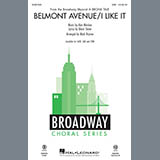 Download or print Belmont Avenue/I Like It (from A Bronx Tale) (arr. Mark Brymer) Sheet Music Notes by Alan Menken for TTBB Choir