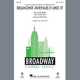Download Alan Menken Belmont Avenue/I Like It (from A Bronx Tale) (arr. Mark Brymer) Sheet Music arranged for TTBB Choir - printable PDF music score including 13 page(s)