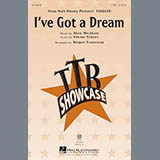 Download Roger Emerson I've Got A Dream Sheet Music arranged for TTBB - printable PDF music score including 18 page(s)