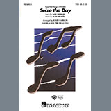 Download Alan Menken Seize The Day (from Newsies) (arr. Roger Emerson) Sheet Music arranged for TTBB Choir - printable PDF music score including 9 page(s)