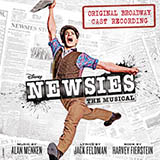 Download or print Seize The Day (from Newsies The Musical) Sheet Music Notes by Alan Menken for Lead Sheet / Fake Book
