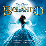 Download or print True Love's Kiss (from Enchanted) Sheet Music Notes by Alan Menken for Piano