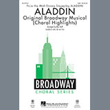 Download or print Aladdin (Choral Highlights) (arr. Mac Huff) Sheet Music Notes by Alan Menken for SAB