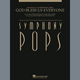 Download Alan Silvestri God Bless Us Everyone - Bb Bass Clarinet Sheet Music arranged for Full Orchestra - printable PDF music score including 2 page(s)