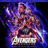 Download Alan Silvestri Main on End (from Avengers: Endgame) Sheet Music arranged for Piano Solo - printable PDF music score including 3 page(s)