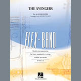 Download Alan Silvestri The Avengers (arr. Johnnie Vinson) - Pt.5 - String/Electric Bass Sheet Music arranged for Flex-Band - printable PDF music score including 1 page(s)