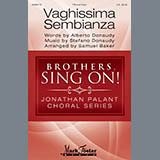 Download Albert Donaudy & Stefano Donaudy Vaghissima Sembianza (arr. Samuel Baker) Sheet Music arranged for TTBB Choir - printable PDF music score including 8 page(s)
