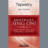 Download Alec Powell Tapestry Sheet Music arranged for TTBB - printable PDF music score including 12 page(s)