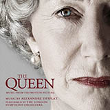 Download or print People's Princess I/Elizabeth & Tony (from The Queen) Sheet Music Notes by Alexandre Desplat for Piano