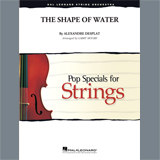 Download or print The Shape of Water (arr. Larry Moore) - Violin 1 Sheet Music Notes by Alexandre Desplat for Orchestra