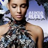 Download Alicia Keys Brand New Me Sheet Music arranged for Piano, Vocal & Guitar (Right-Hand Melody) - printable PDF music score including 7 page(s)