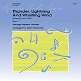 Download Allen Ostrander Thunder, Lightning And Whistling Wind (Coupre Tal Volta Il Cielo) - Trombone Sheet Music arranged for Brass Solo - printable PDF music score including 1 page(s)