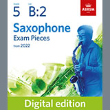 Download Althea Talbot-Howard Andante (from Sonata for the Harp) (Grade 5 List B2 from the ABRSM Saxophone syllabus Sheet Music arranged for Alto Sax Solo - printable PDF music score including 14 page(s)