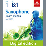 Download Althea Talbot-Howard Chanson de ma patrie (Grade 1 List B1 from the ABRSM Saxophone syllabus from 2022) Sheet Music arranged for Alto Sax Solo - printable PDF music score including 3 page(s)