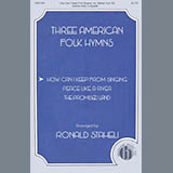 Download American Folk Hymn How Can I Keep From Singing (arr. Ronald Staheli) Sheet Music arranged for SATB Choir - printable PDF music score including 12 page(s)