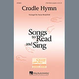 Download or print Cradle Hymn Sheet Music Notes by Susan Brumfield for 3-Part Treble