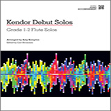 Download Amy Kempton Kendor Debut Solos Sheet Music arranged for Flute and Piano - printable PDF music score including 40 page(s)