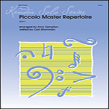 Download or print Piccolo Master Repertoire - Piano Accompaniment Sheet Music Notes by Amy Kempton for Woodwind Solo