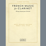Download or print Solo De Concours Sheet Music Notes by Andre Messager for Clarinet and Piano
