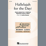 Download Andrea Ramsey Hallelujah For The Day! Sheet Music arranged for TTBB - printable PDF music score including 9 page(s)